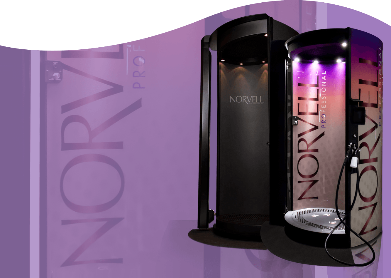Zoom Tan Uses Norvell Spray Tanning Booths