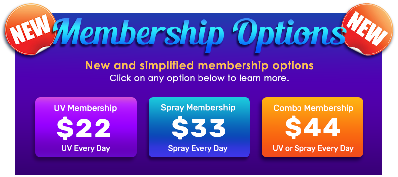 New And Simplified Membership Options - Click On Links Below To Learn More