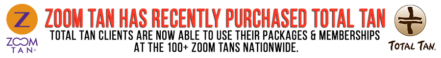 Zoom Tan Recently Purchased all Total Tan Locations.