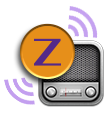 Zoom Tan Radio Logo
